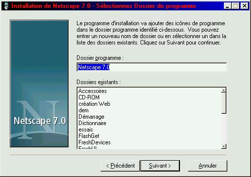7.1 FRANCAIS NETSCAPE TÉLÉCHARGER